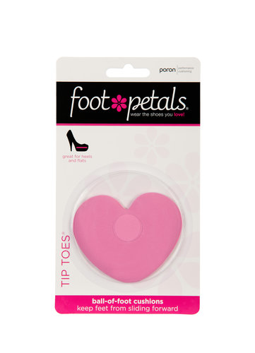 TIP TOES HEART PACKAGING
