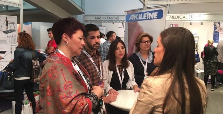 Akileïne en el 48 Congreso Nacional de Podología