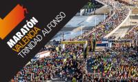 Akileïne en el Maratón de Valencia 2017